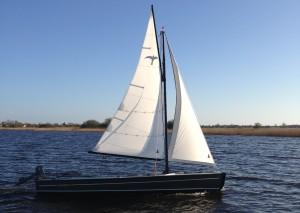 Warber segelt auch komplett ohne Segler...
