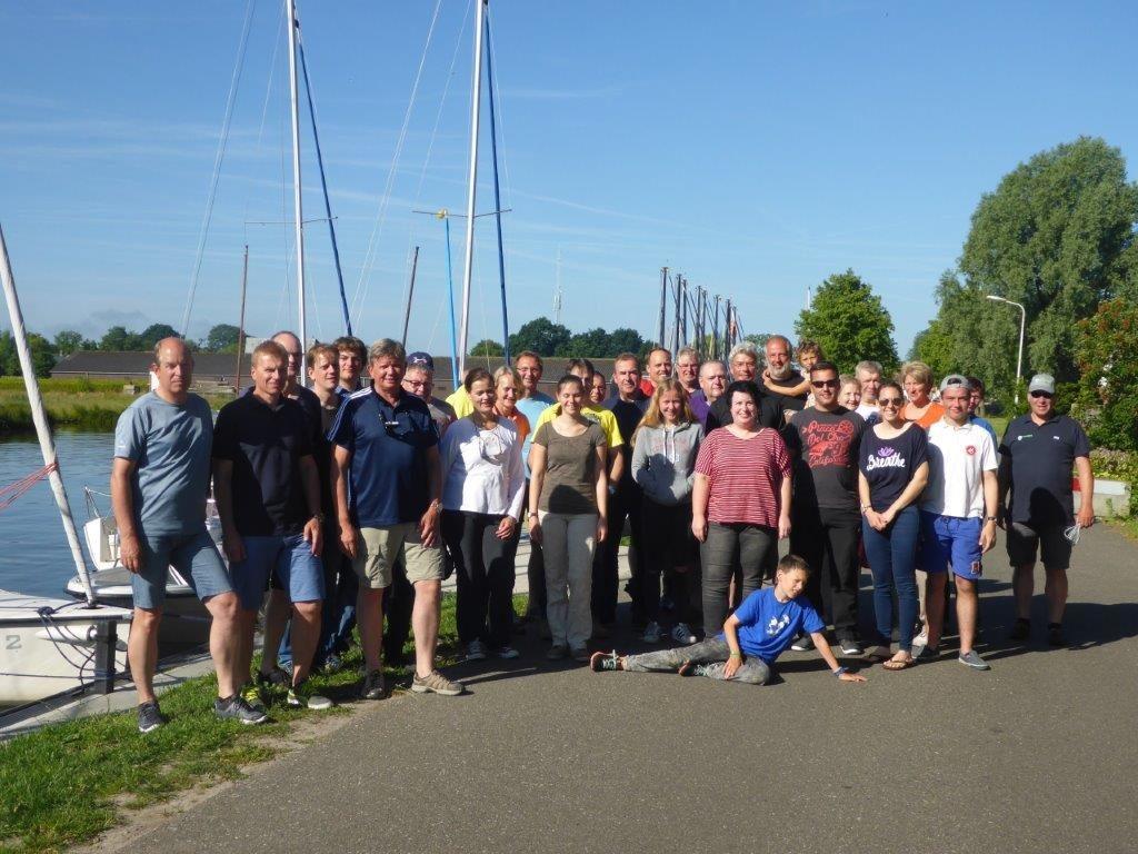 Gruppenfoto Sportbootführerschein Ausbildung